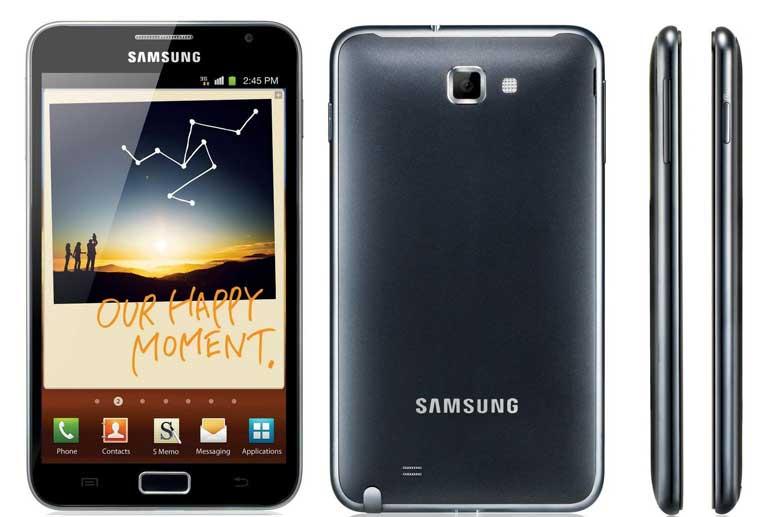 Цены на ремонт Samsung Galaxy Note (N7000)
