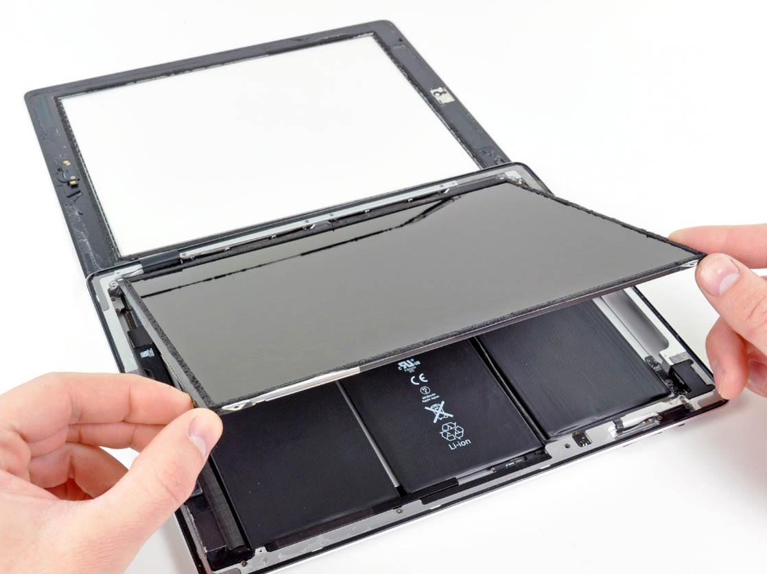 Замена стекла iPad 2