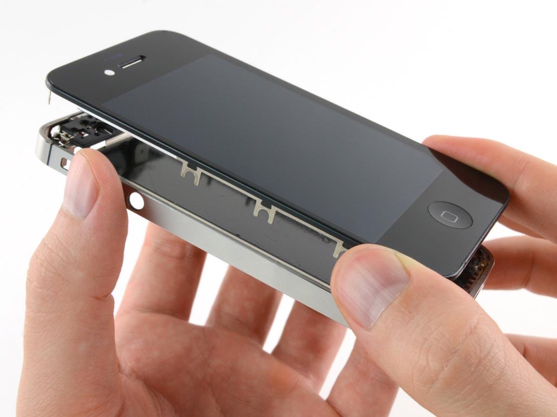 Ремонт экрана iPhone 4s