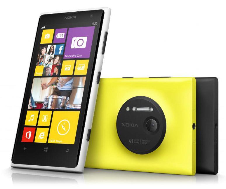 Цены на ремонт Lumia 1020