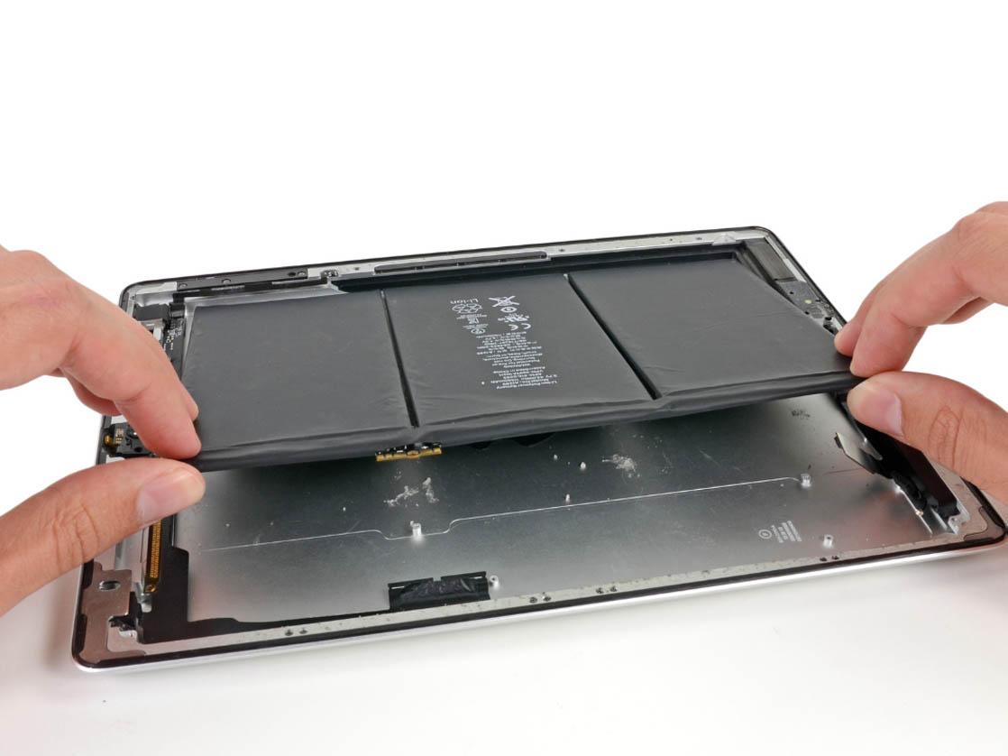 Замена батареи айпад 3