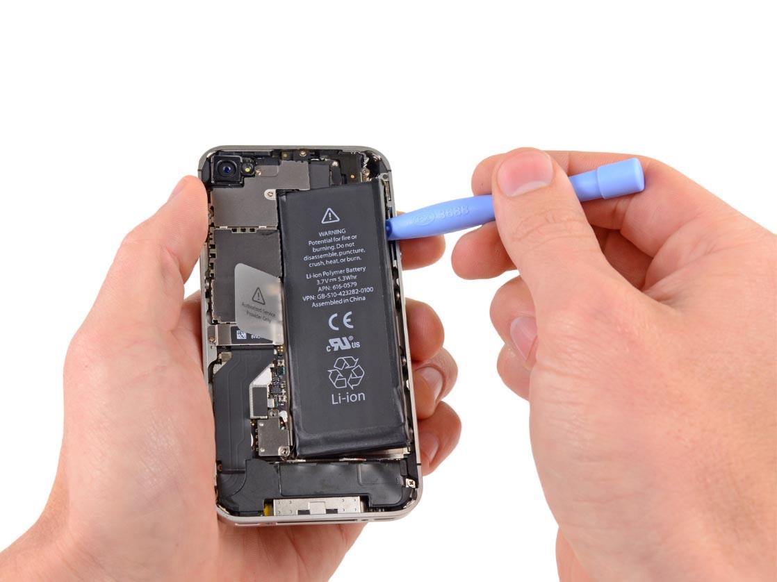 Быстро садится аккумулятор iPhone 4s