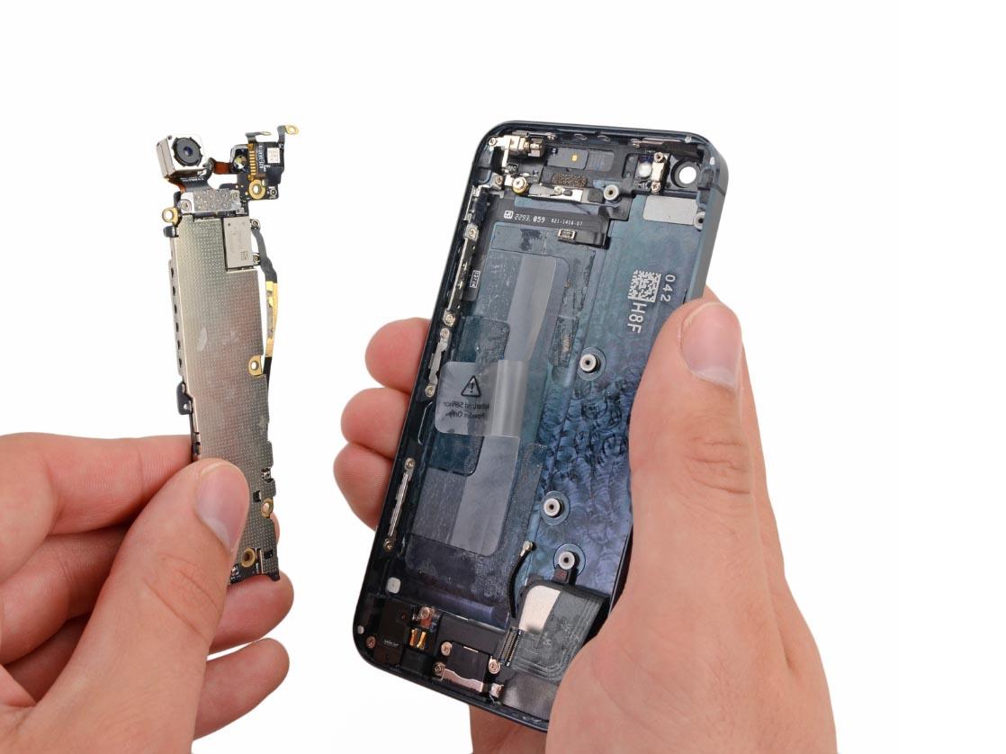 Замена камеры на айфон 5