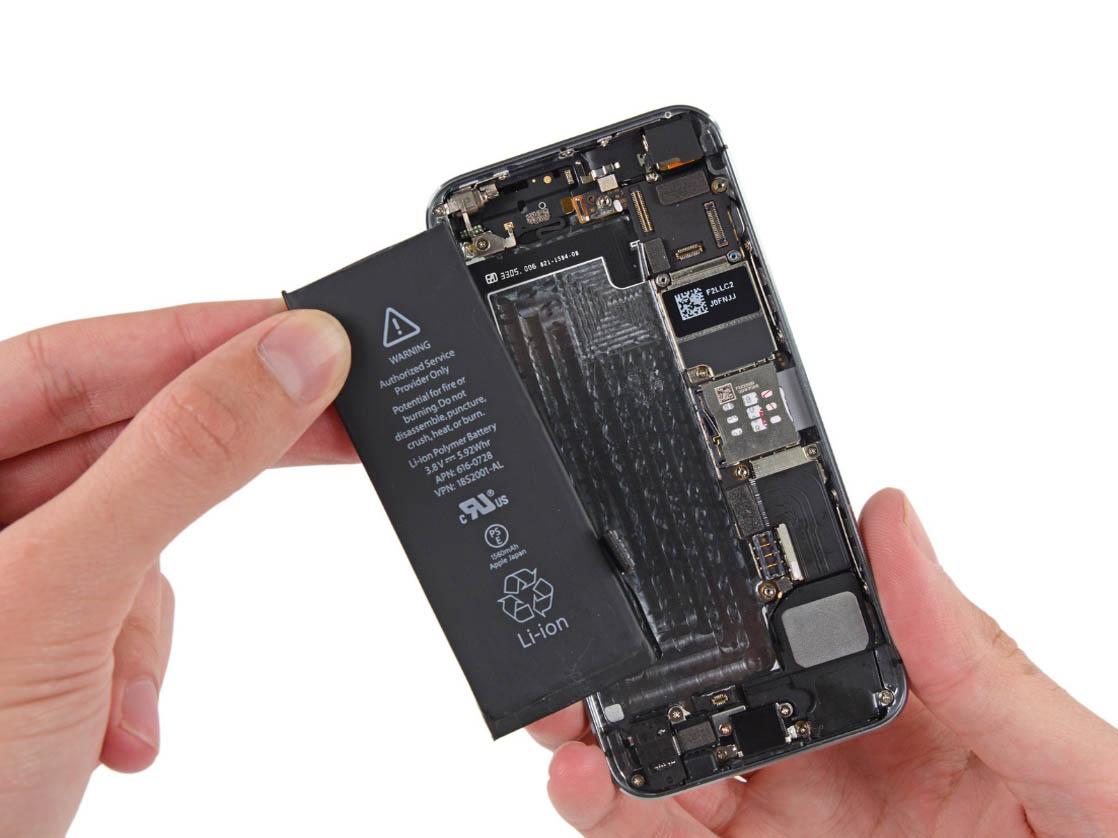 Быстро садится батарея на айфон 5s