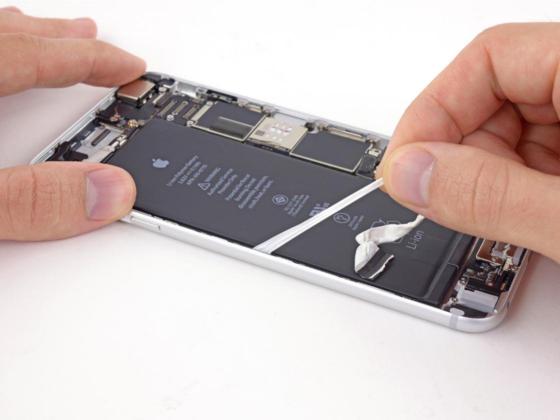 Не включается iPhone 6 plus