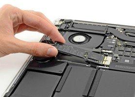 Замена sdd macbook