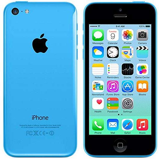 Цены на ремонт iPhone 5c