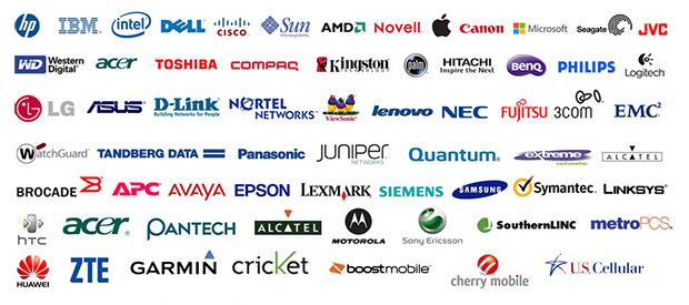 Перечень производителей планшетов