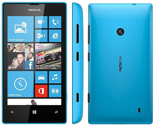 Цены на ремонт Nokia Lumia 520