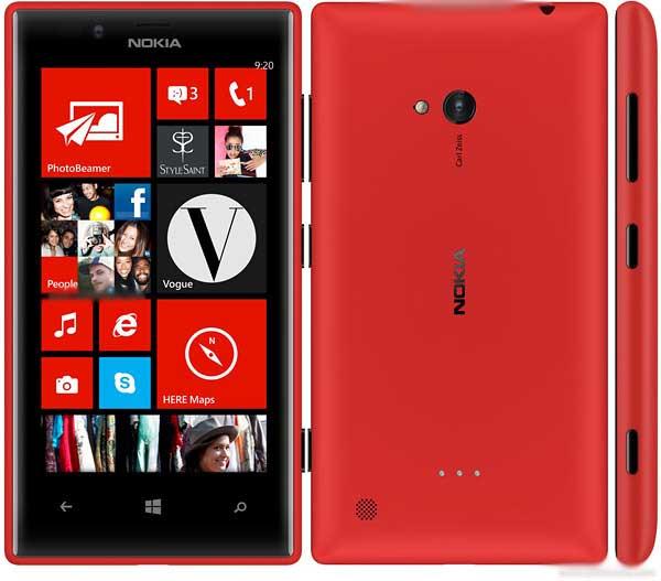 Цены на ремонт Nokia Lumia 720