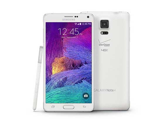 Цены на ремонт Samsung Galaxy Note 4