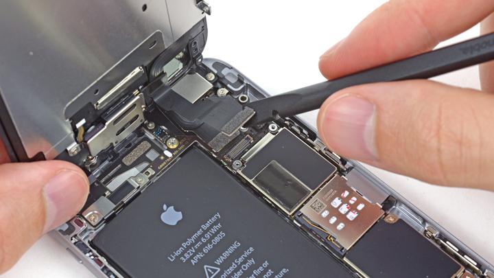 замены шлейфа iPhone на 6S и 6S plus