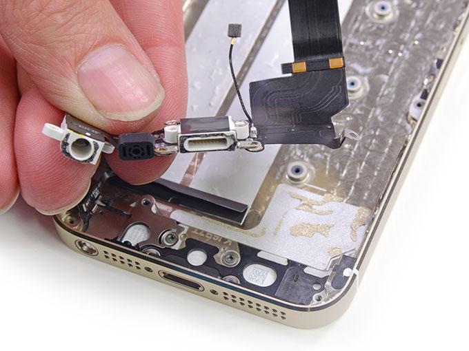 Замена шлейфа Home iPhone 6S и 6S plus
