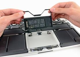 Замена сенсорного дисплея на macbook pro