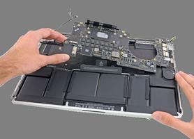 Замена аккумулятора macbook pro