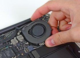 Замена охлаждения на macbook air