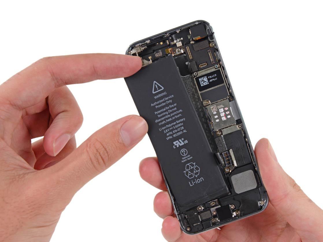 """Замена аккумулятора на iPhone 5s по лучшей цене в Москве в сервисном центре """"X-Repair""""!"""