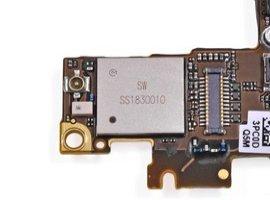 Замена вайфай модуля iРhone 6