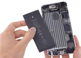 Замена батареи айфон после мороза