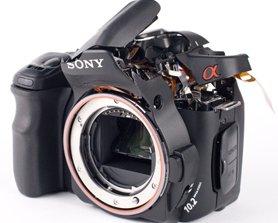 ремонт зеркальных фотоаппаратов sony