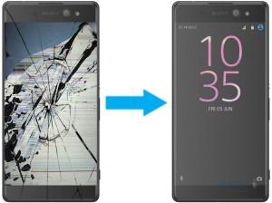 Замена дисплея Sony Xperia XA