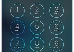 iPhone смена пароля