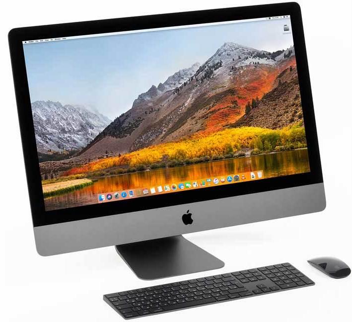 Цены на ремонт iMac Pro
