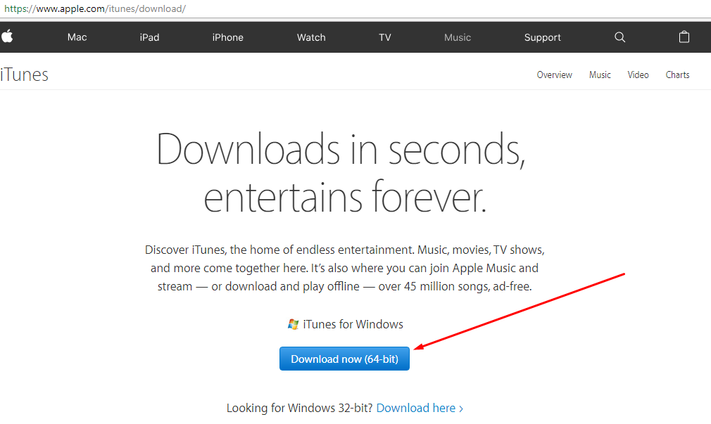 download itunes windows скачать