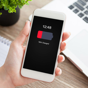 Осенняя акция: замена аккумуляторной батареи iPhone с гарантией