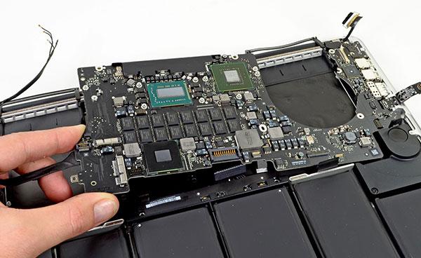 Ремонт ноутбука MacBook Air Rerina