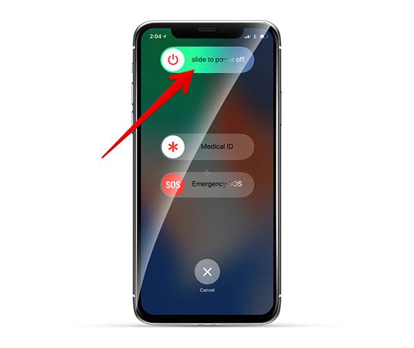 Как перезагрузить iPhone XS