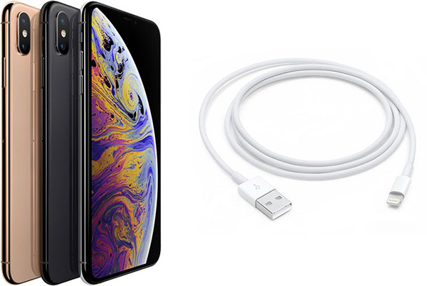 Для перезагрузки нужно подключить iPhone XS к компьютеру