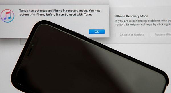 сохранение данных перед вхождением в режим DFU в iPhone