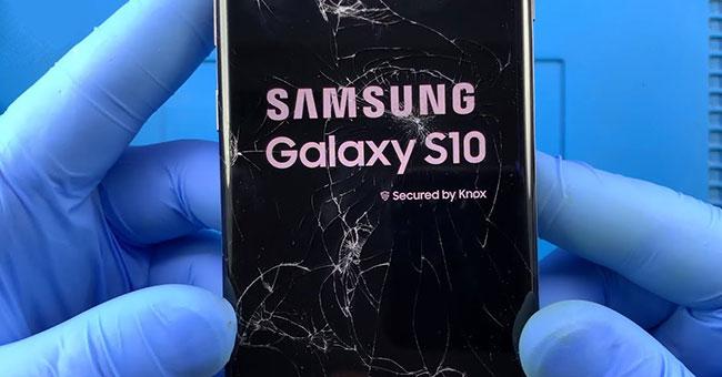 замена запчастей Galaxy s10