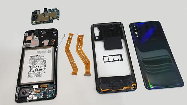 сколько стоит ремонт Samsung Galaxy A50