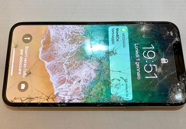 неисправность экрана iphone xs