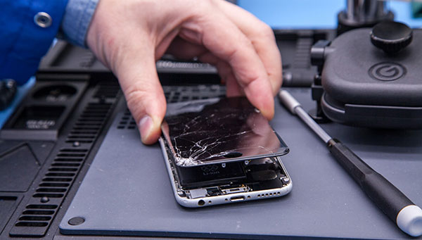 ремонт дисплея айфон 7 и 7 плюс