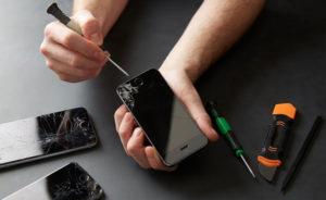 ремонт дисплея айфон 7