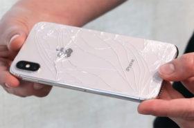 замена заднего стекла айфон по акции