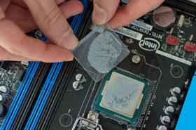 Особеннсоти замены термопасты Macbook Pro
