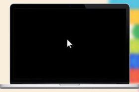 У MacBook чёрный экран