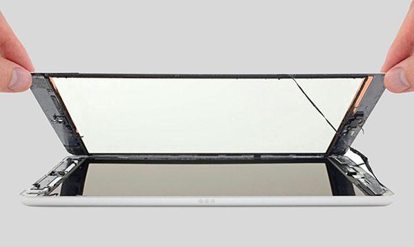 Ремонт экрана стекла iPad 7